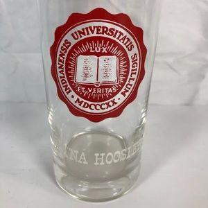 Vintage Indiana University Glass Tumbler